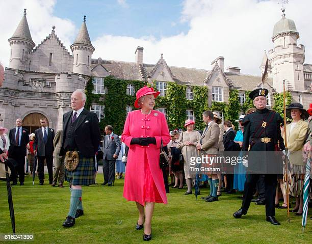 The final day of the Golden Jubilee tour ends with a Garden Party in the grounds of the Queen's home at Balmoral Castle. Queen Elizabeth II walks...