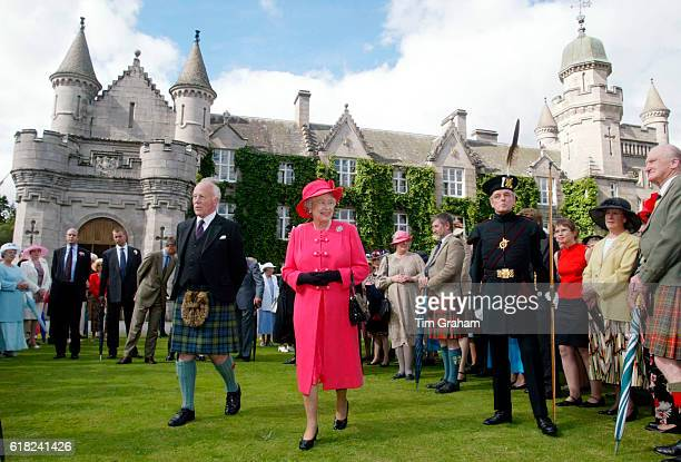 The final day of the Golden Jubilee tour ends with a Garden Party in the grounds of the Queen's home at Balmoral Castle. Queen Elizabeth ll walks...