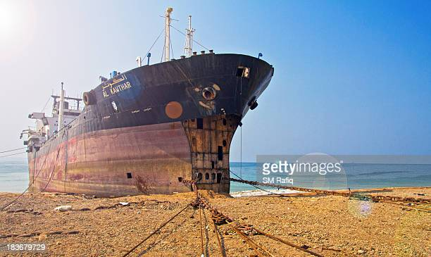 The final destiny of a retired ship -The Gadani Ship Breaking Yard, where the ships reaching to their lives are brought and broken.