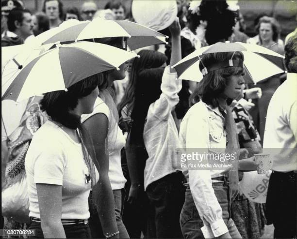 The final event of The Festival Of Sydney for 1978 was a Grand Parade through the streets of SydneyOver 1000 people took part in the parade which...