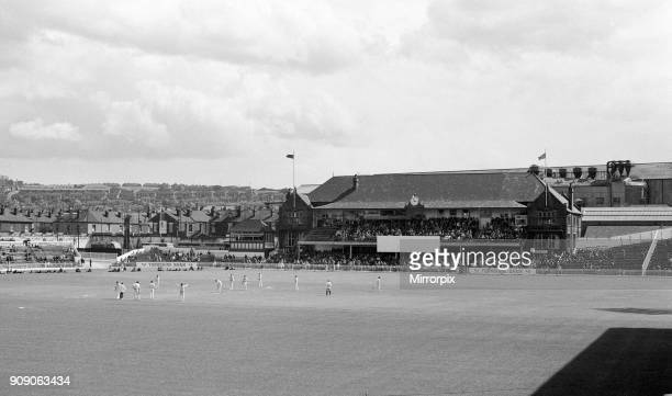 The final first class match to be held at Bramall Lane, Sheffield. The County Championship match between home team Yorkshire and Lancashire ended in...