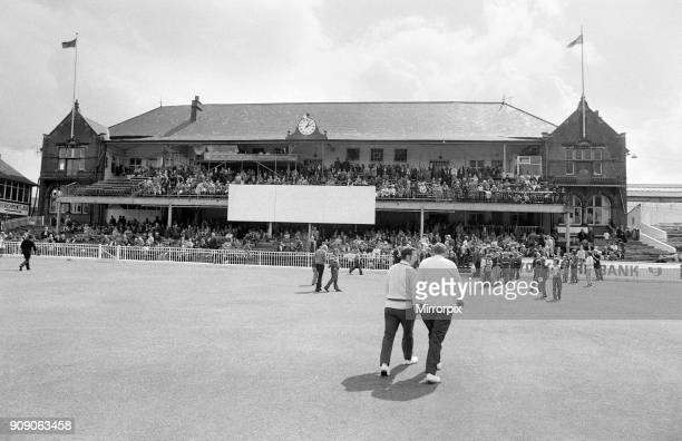 The final first class match to be held at Bramall Lane, Sheffield, the County Championship match between home team Yorkshire and Lancashire. 7th...