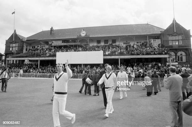 The final first class match to be held at Bramall Lane Sheffield the County Championship match between home team Yorkshire and Lancashire 7th August...