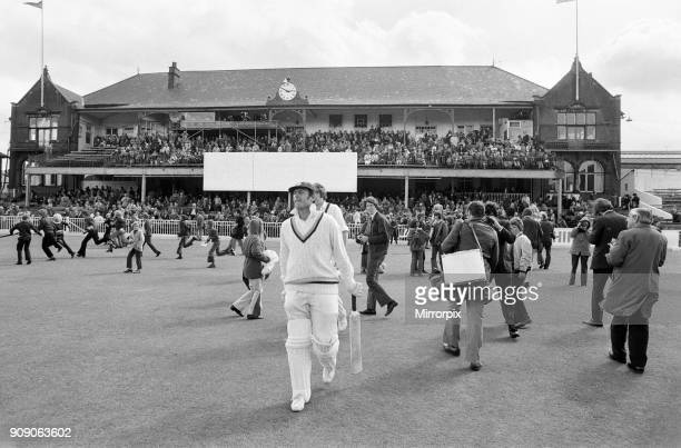 The final first class match to be held at Bramall Lane, Sheffield, the County Championship match between home team Yorkshire and Lancashire....
