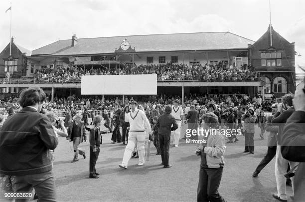 The final first class match to be held at Bramall Lane Sheffield the County Championship match between home team Yorkshire and Lancashire Yorkshire...