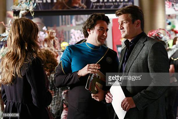 CASTLE The Final Frontier When a body is found at a scifi convention Castle and Beckett are warped into the heart of fandom a world of egotistic...