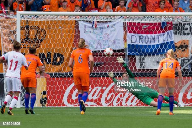 The Final match of the UEFA Women's Euro 2017 between Netherlands and Denmark held at FC Twente Stadium in Enschede, Netherlands on August 06, 2017....