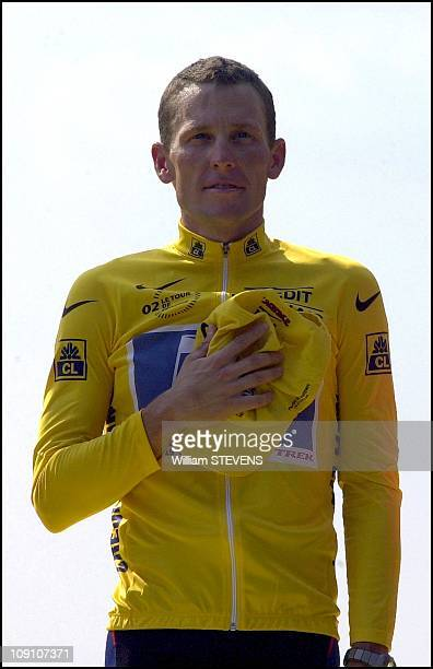 The Final Stage Of The Tour De France In Paris On July 28Th 2002 In Paris France Lance Armstrong