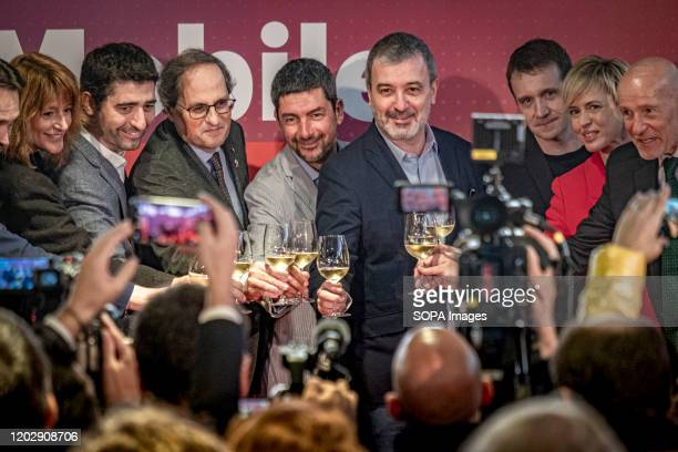 The final toast being done after the during the event. After the suspension of the Mobile World Congress 2020 due to the threat of Covid-19,...