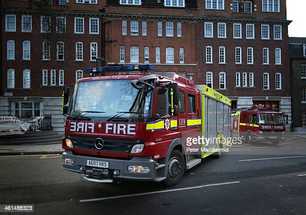 18 Protests As 10 London Fire Stations Close Pictures