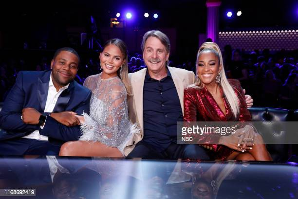 FUNNY The Finale Episode 110 Pictured Kenan Thompson Chrissy Teigen Jeff Foxworthy Amanda Seales