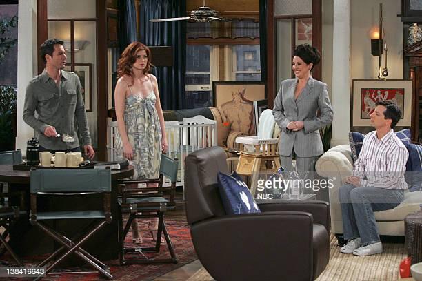 WILL GRACE 'The Finale' Episode 23 Pictured Eric McCormack as Will Truman Debra Messing as Grace Adler Megan Mullally as Karen Walker Sean Hayes as...