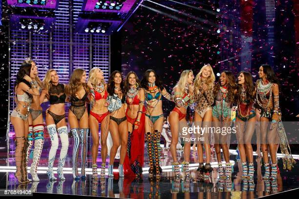 The finale of the Victoria's Secret Fashion Show featuring Harry Styles Jane Zhang Miguel Leslie Odom Jr and the Victoria's Secret Angels on November...