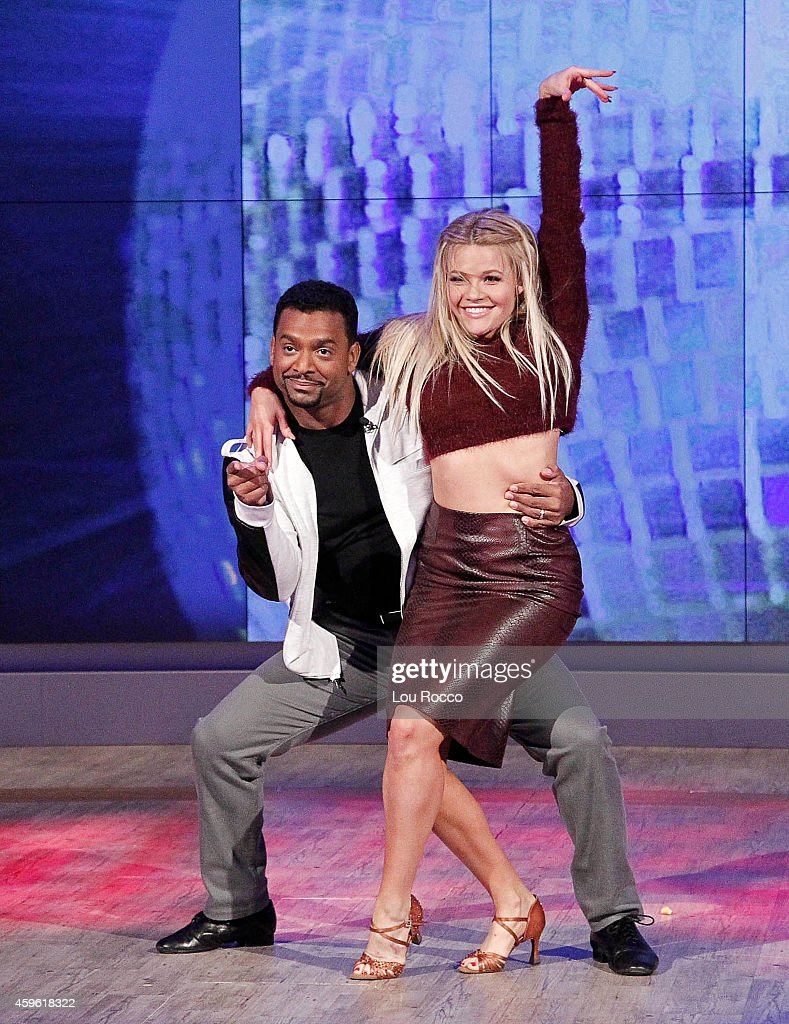 THE VIEW - The finalists and winners from 'Dancing With The Stars' visit 'THE VIEW,' 11/26/14 (11:00 a.m. - 12:00 noon, ET) airing on the ABC Television Network. (Photo by Lou Rocco/ABC via Getty Images) WINNERS, ALFONSO