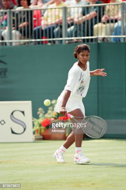 The finals of the DFS Classic at Edgbaston Priory, United States Lori McNeil defeated United States Zina Garrison-Jackson 6-4, 2-6, 6-3, 13th June...