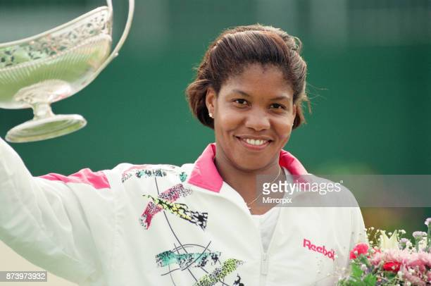 The finals of the DFS Classic at Edgbaston Priory United States Lori McNeil defeated United States Zina GarrisonJackson 64 26 63 Pictured Lori McNeil...
