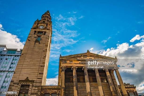 the finest and classical church in scotland - old glasgow stock pictures, royalty-free photos & images
