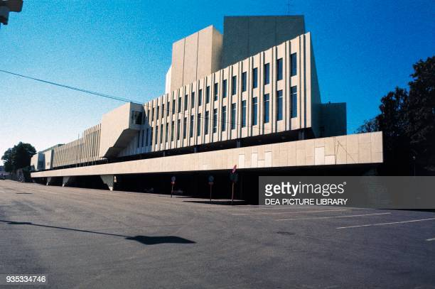 The Finland Hall 19671971 by Alvar Aalto Helsinki Finland