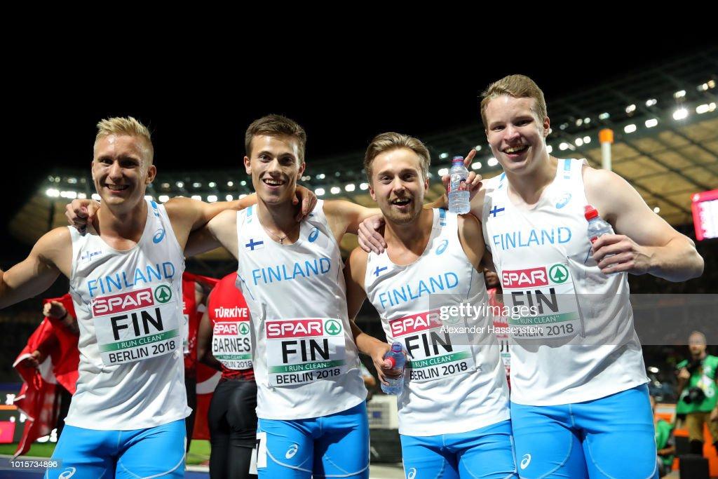 24th European Athletics Championships - Day Six : Fotografía de noticias