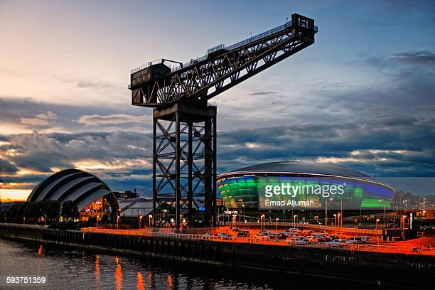 The Finnieston Crane, Glasgow, Scotland
