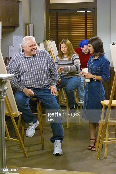 FITZGERALDS The Fire Fight Episode 2 Aired 2/20/01 Pictured Brian Dennehy as Fitzgerald unknown unknown Constance Zimmer as Beth Photo by Paul...
