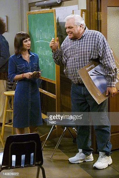 FITZGERALDS The Fire Fight Episode 2 Aired 2/20/01 Pictured Constance Zimmer as Beth Brian Dennehy as Fitzgerald Photo by Paul Drinkwater/NBCU Photo...