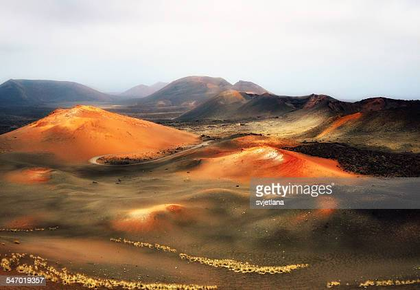 The Fire Mountains,  Timanfaya, Lanzarote, Canary Islands, Spain