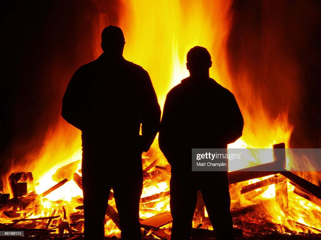 The Firemen : Stock Photo