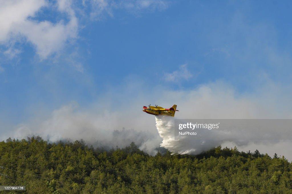 Fires Around L'Aquila : ニュース写真
