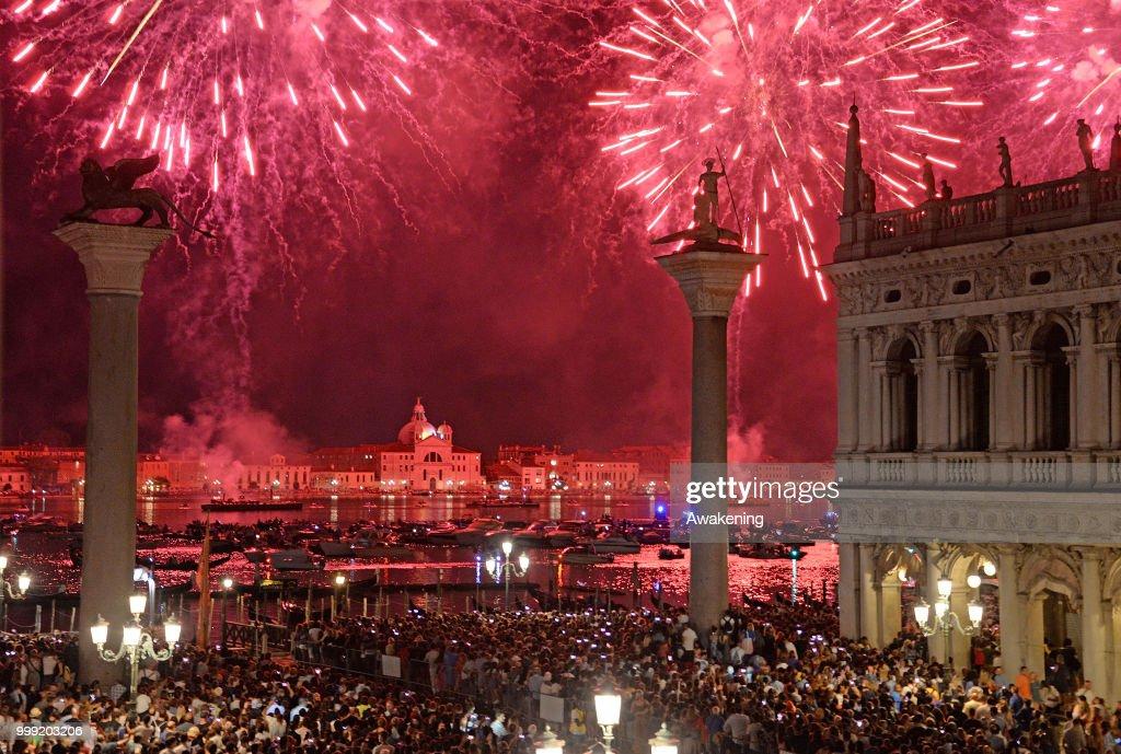 Venice Celebrates The Redentore