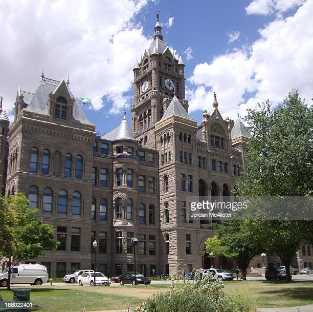 The firm of Monheim, Bird, and Proudfoot designed this fantastic former county courthouse located at 451 South State Street in beautiful downtown...