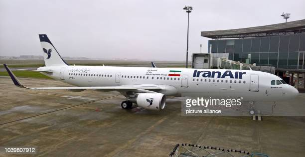 The first Airbus A321 was delivered to the Irani state airline Iran Air at the delivery centre of Airbus in Toulouse France 11 January 2017 Photo...