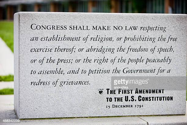 The First Amendment to U.S. Constitution, Philadelphia