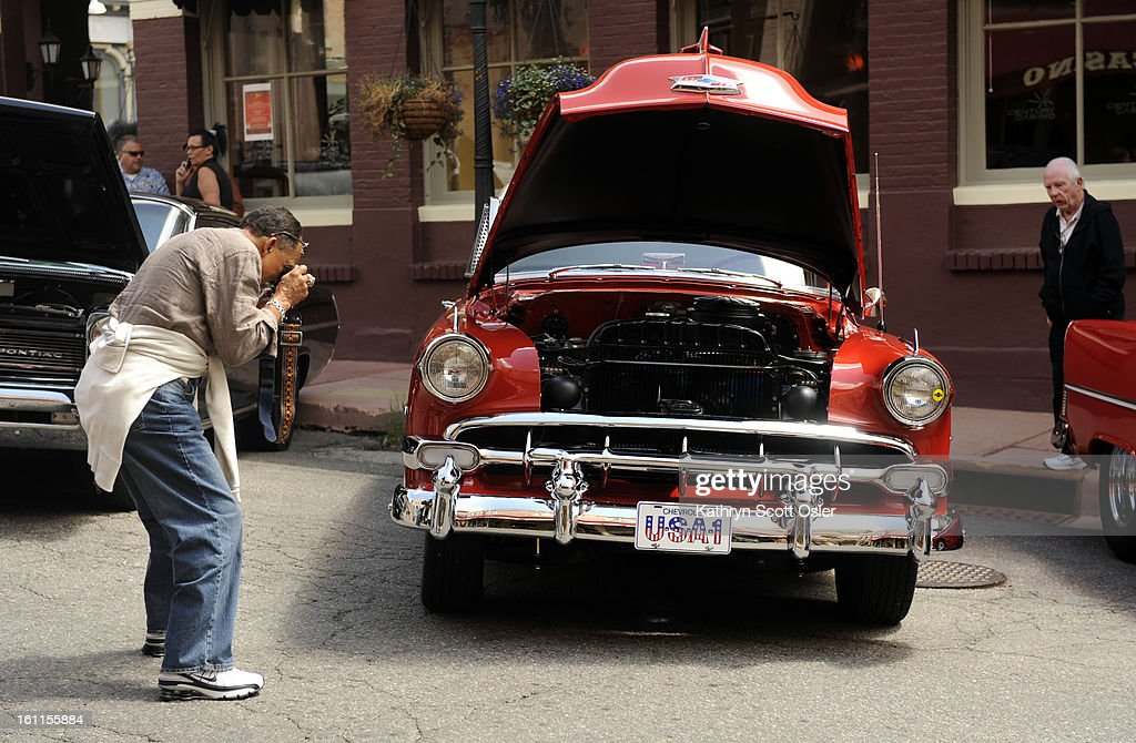 The First Annual Roddin\' the Rockies event begins with vintage autos ...