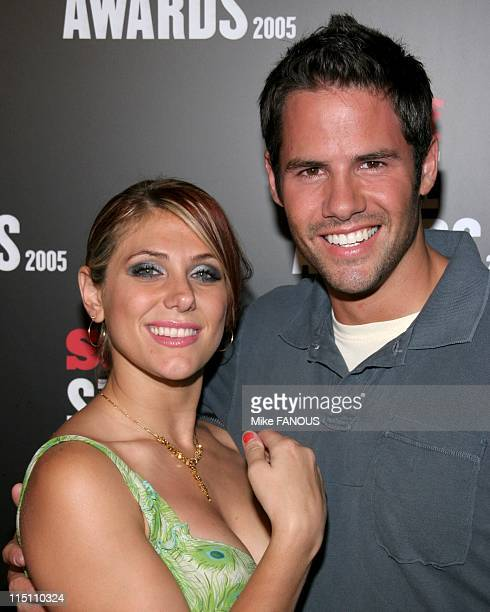 The first Annual Stuff Style Awards in Hollywood United States on September 07 2005 Jenna Lewis and Steven Hill at the 1st Annual Stuff Style Awards...