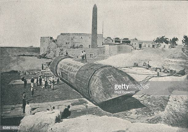 The First Attempt at Launching' Cleopatra's Needle was originally erected in the Egyptian city of Heliopolis on the orders of Thutmose III around...