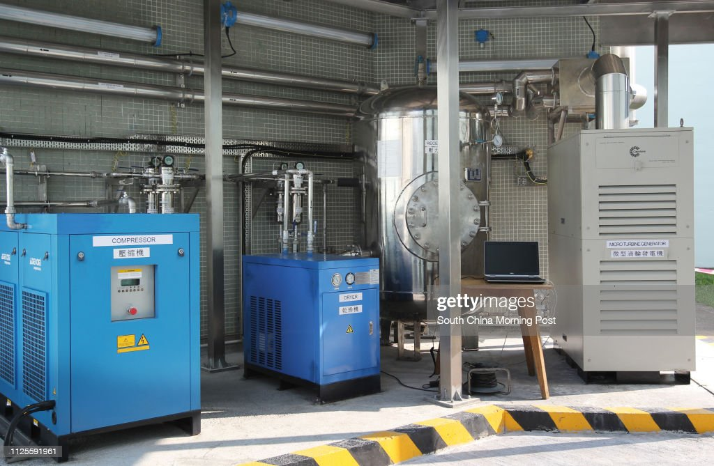 The first biogas-fuelled micro-turbine generator installed