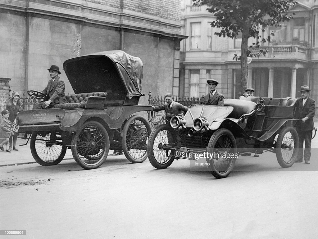 The first british automobile (year of manufacture: 1896) and its ...