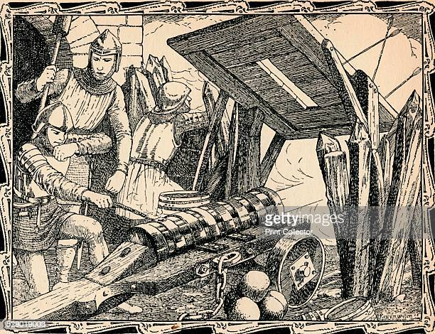 The First Cannon at Crecy 1902 A major engagement of the Hundred Years War between England and France Edward III of England and his son Edward the...