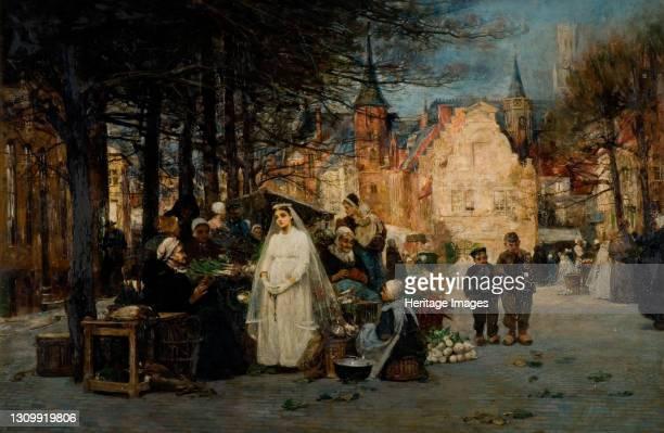 The First Communion, 1894. Artist Flora MacDonald Reid. .