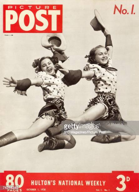 The first cover of Picture Post magazine 'Hulton's National Weekly' 1st October 1938