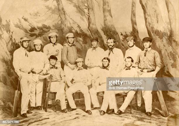 The first cricket team to represent England on an overseas tour was George Parr's group of intrepid travellers who sailed from Liverpool to Quebec...