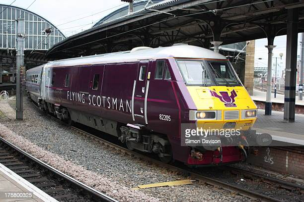 The first day East Coast re-introduced the Flying Scotsman service on the East Coast Mainline between Edingburgh and London Kings Cross. This Driving...