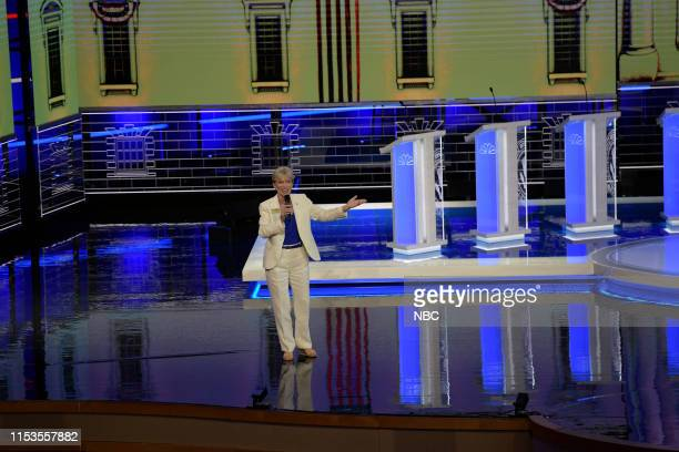 COVERAGE The First Democratic Debate Pictured Terrie Rizzo Florida Democratic Party Chair at The Knight Concert Hall Miami Florida on Wednesday June...