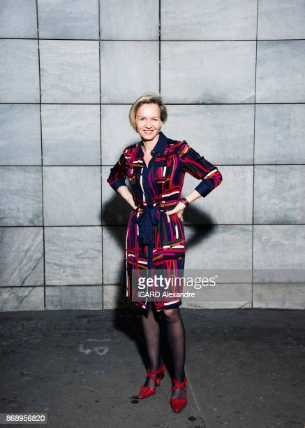 the first deputy mayor of Bordeaux Virginie Calmels is photographed for Paris Match on october 16 2017 in Paris France