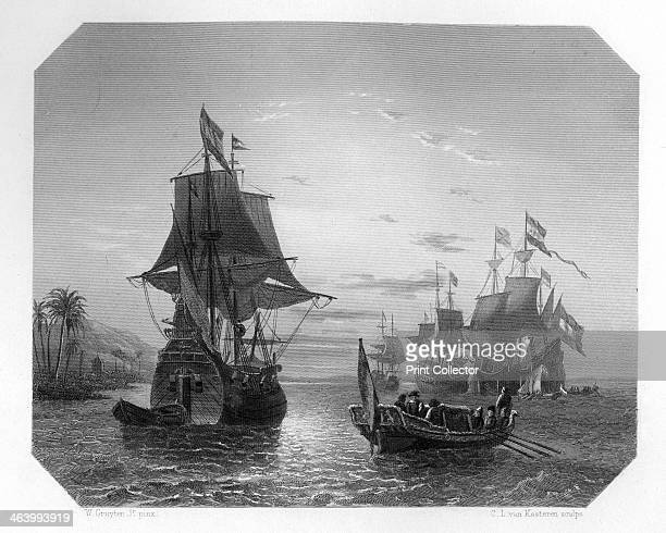 The first Dutch ship in East Indies A four ship expedition commanded by Cornelis de Houtman arrived in Indonesia in June 1596 The expedition had been...