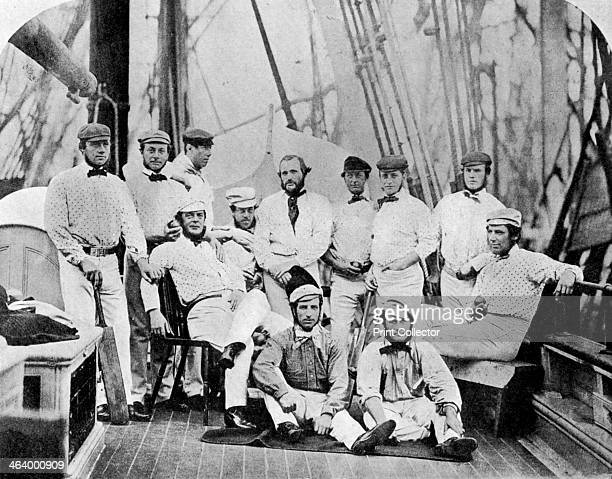 The first English cricket team to tour America 1859 From Imperial Cricket edited by P F Warner and published by The London and Counties Press...
