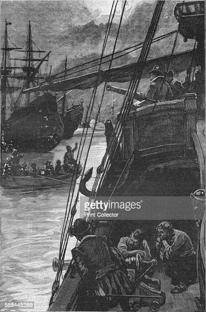 Sir Francis Drake's 'Golden Hind' at Lima 1579 From Harmsworth History of the World Volume 2 by Arthur Mee JA Hammerton AD Innes MA Artist Sir...