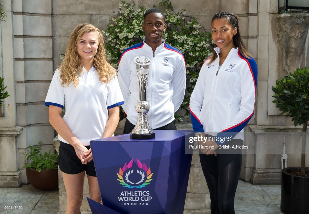 Athletics World Cup Media Event : News Photo