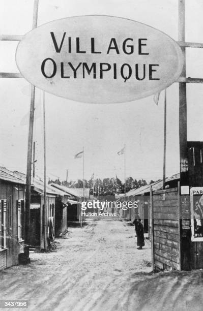 The first ever Olympic Village built for the 1924 games in Paris